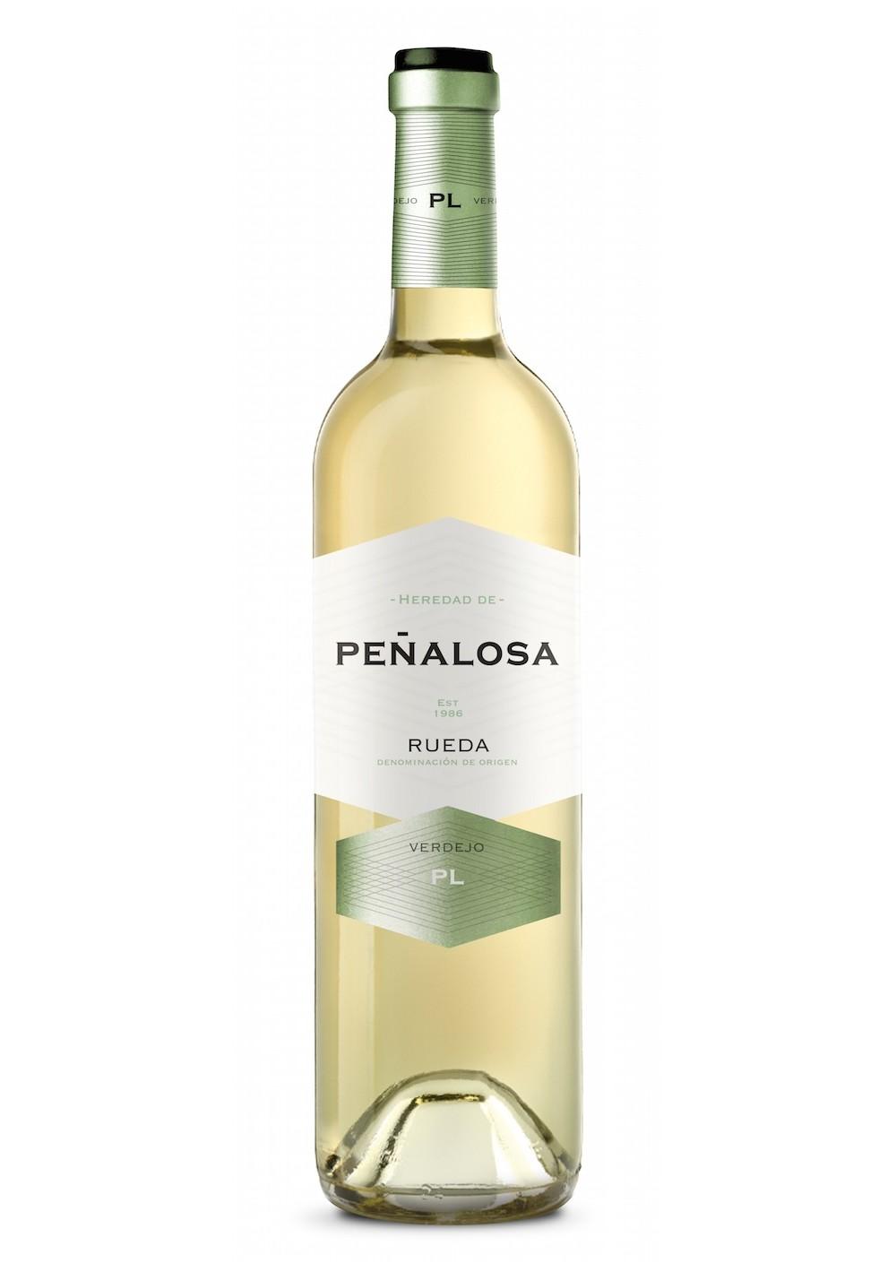 Heredad de Peñalosa, verdejo. Dejlig frisk Spansk hvidvin