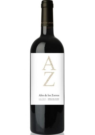 Alto de los Zorros autor. Spansk rødvin